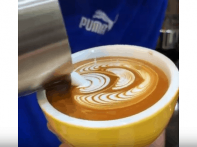 HOW TO LATTE ART WINGTULIP